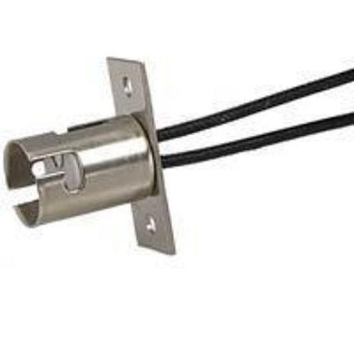 Socket for 1157, BA15D, w. screw mount