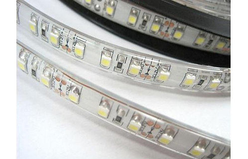 LED Strip, 5050 SMD, 5M, 150LED, Cold White,  Waterproof(Work underwater)IP67)