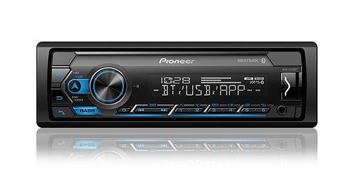 Pioneer MVH-S320BT Single-Din Digital Media Receiver with Bluetooth