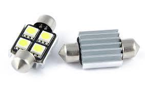 LED CanBus Bulb 36mm, 4 LED, White