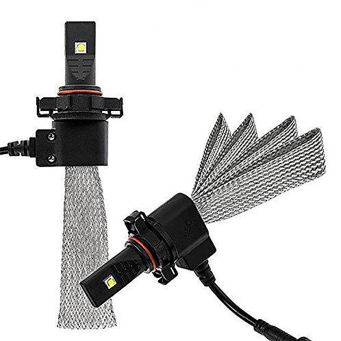 L5S-5202, LED Headlight, Phillips, 5202 (H16), DC10-36V, w/o Fan, 4000LM, Pair