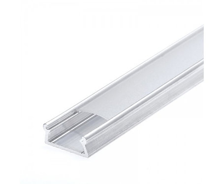 Bar Light Cover for double raw, Transparent, per PC (Options: 2 & 6in)