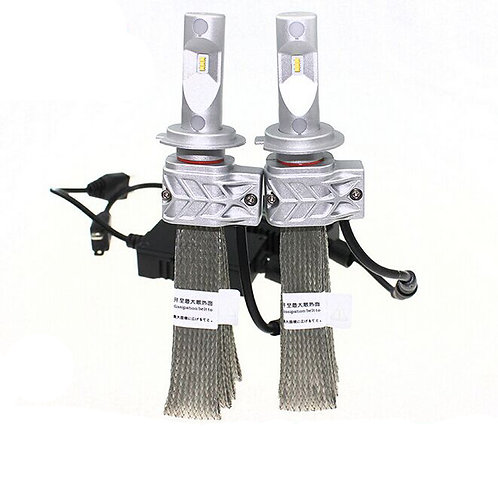 L5S-H7, LED Headlight, Phillips-Chip, H7,  DC10-36V, w/o Fan, 4000LM, Per set