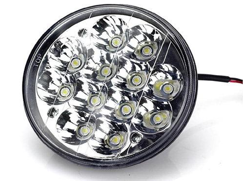 "5"" Round LED Light, 25W, Hi-Low. H4.per PC"
