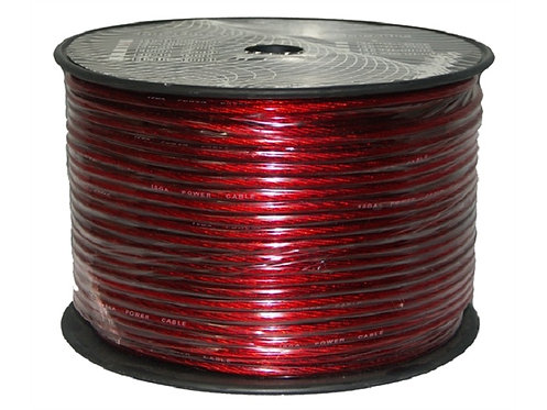 10 AWG 500ft Power Cable, Red