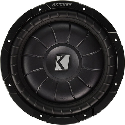 KICKER 4-OHM DVC SUBWOOFER (Options: 10 to 12 in)