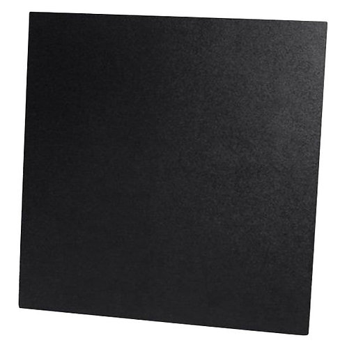 ABS SHEETS, 12''X12'', 1/8'', BLACK