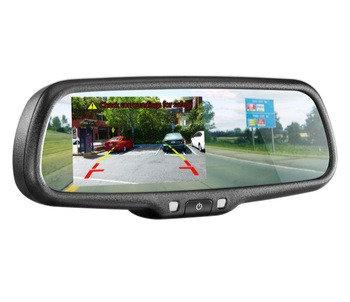 Rear View Mirror Digital Monitor