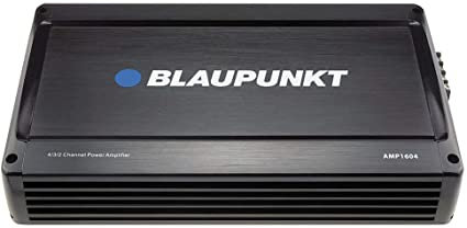 Blaupunkt 1600W 4-Channel, Full-Range Amplifier