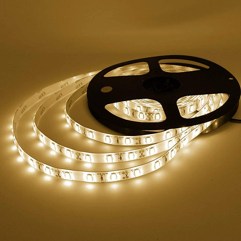 LED Strip, 5050 SMD, Warm White, 5M, Waterproof(Options: 150 & 300LED)
