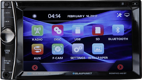 "Blaupunkt AUSTIN 440 In-Dash 7"" Touchscreen Receiver w/ USB/AV Inputs"