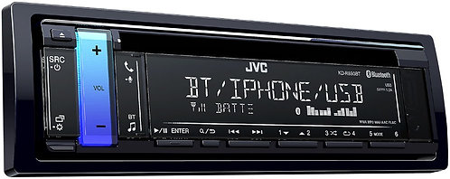 JVC KD-R890BT 1-Din CD Receiver w/Bluetooth//USB/AUX/iPhone/Android