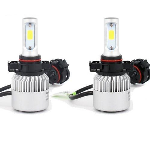 LF-H7, LED Headlight, H7, DC10-24V, Fan, 6500K, Pair