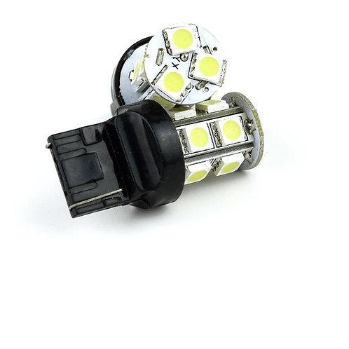 LED Bulb, 7443, 13 LED, White, Pair