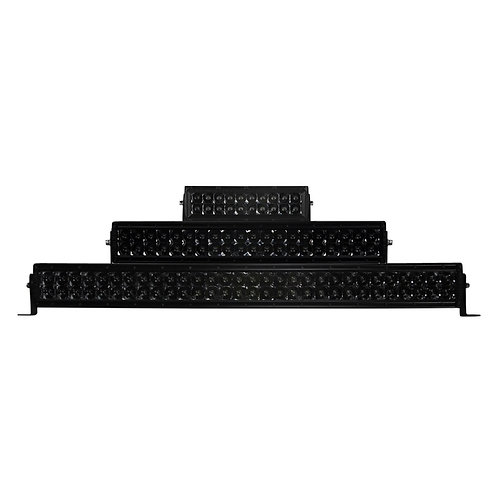 LED Double Row, Smoked Reflector (Options: 72W to 240W; 13 to 42 in)