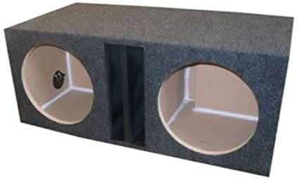 Dual slot Vented Box (Options: 10 to 15 in)