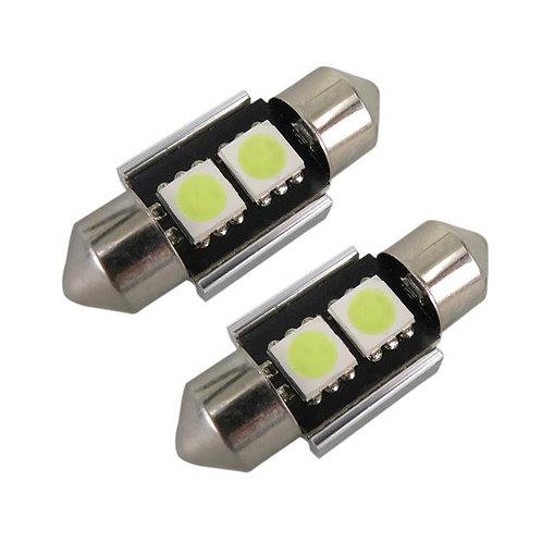 LED CanBus Bulb 31mm, 2 LED, White