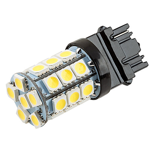 LED Bulb, 3156, 24 LED, White, Pair