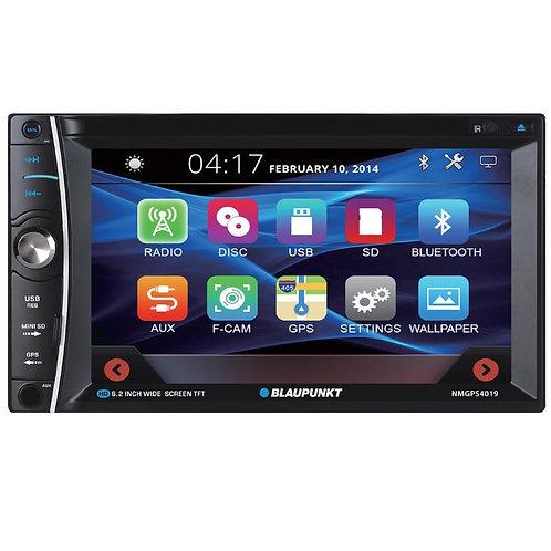 "Blaupunkt 6.2"" In-Dash Touch Screen Navigation Receiver - NMGPS4019"