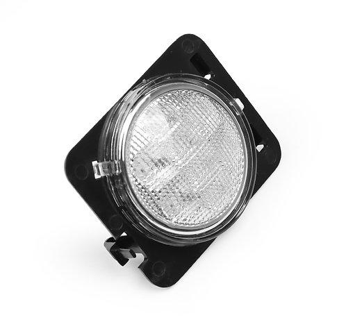 LED Fender Lights, Jeep JK 07-up(Options:LED 7/10/COB;Clear & Smoke Amber/White)