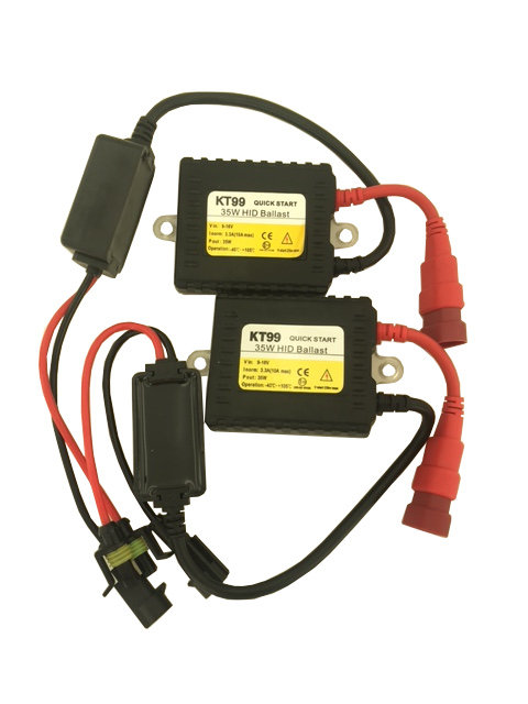 Special HID Ballast, Slim see through, 3 year warranty, Pair