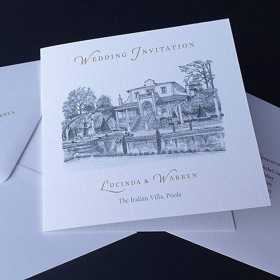 INVITATIONS (Folded or Flat)