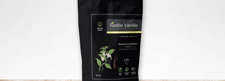 Vanilla Beans Gourmet 13/14-16Cm from Madagascar