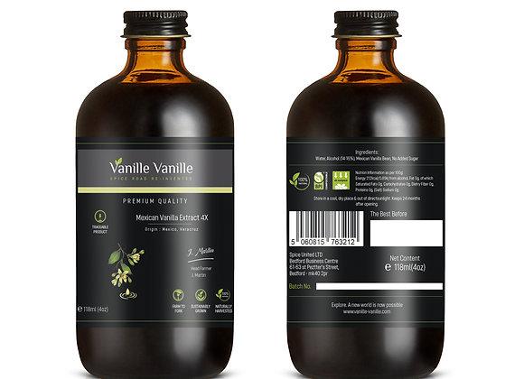 Vanilla Extract 4x from Mexico