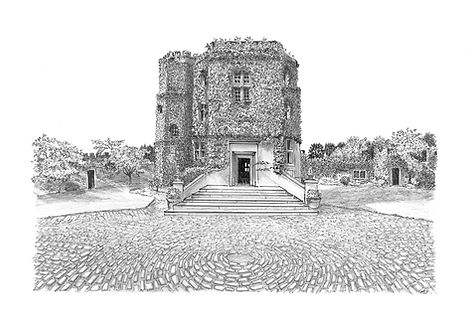 Walton Castle, Clevedon, North Somerset.