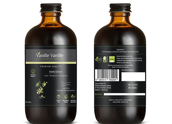 Vanilla Extract Paste from Madagascar