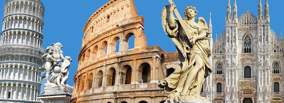 greatest Italian landmarks by Holiday Lu