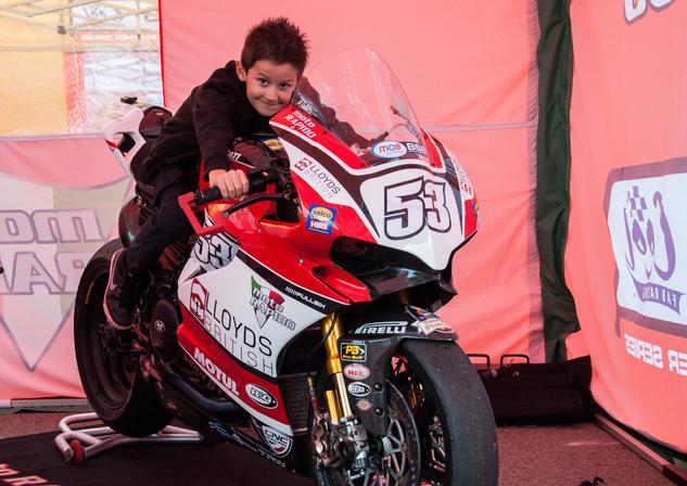 Ryan w/ Moto Rapido