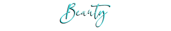 Website Fonts-model teal gradient_beauty