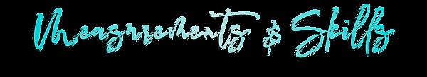 Website Fonts-model teal gradient_measur