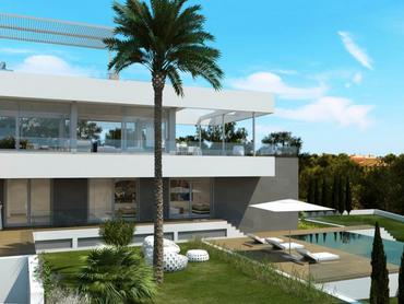 Spain: Minimalist Villa in Santa Ponsa, Mallorca