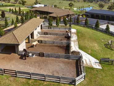 Australia: French-Inspired Equestrian Estate in 291-297 Harkaway Road, Melbourne, Victoria