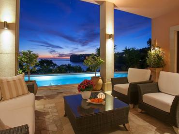 Spain: Exquisite Villa with Amazing Sea Views in Port Andratx, Mallorca