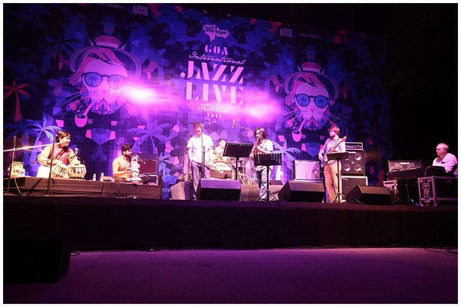 Khamira playing Goa Jazz Festival 2015