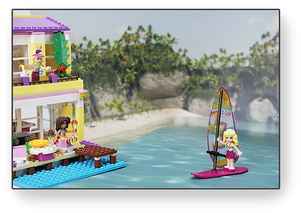 Bakku LEGO Friends at the Beach