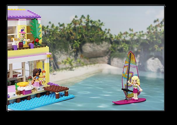 Bakku LEGO Friends at the Beach