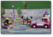 Bakku Backgrounds Toy Scenery | LEGO Friends Schoolyard Driver