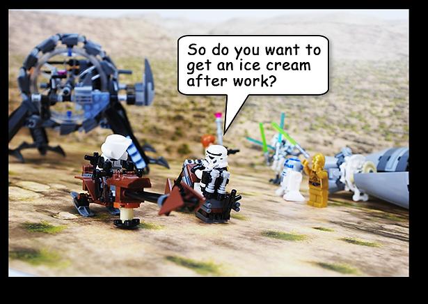 Bakku Backgrounds Toy Scenery | Desert Troopers