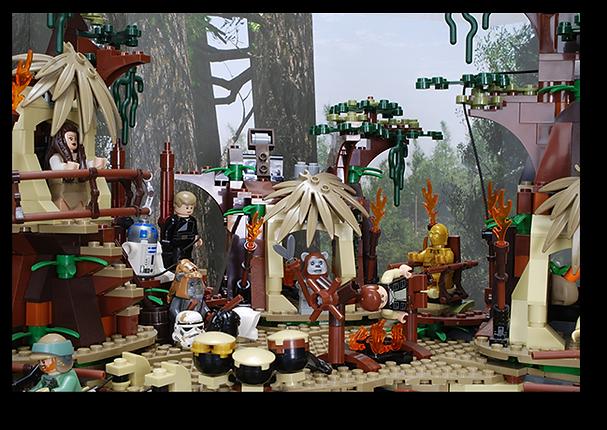Bakku Backgrounds Toy Scenery   Endor