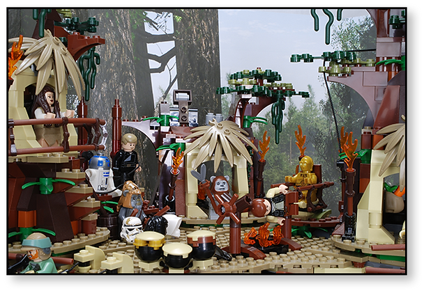 Bakku Backgrounds Toy Scenery | Endor