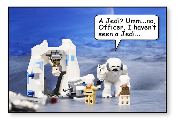 Bakku Backgrounds Toy Scenery | Hoth