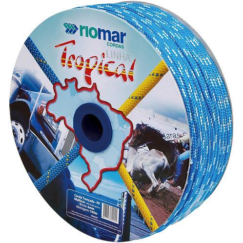 Corda Trançada Multicor Tropical 06 mm