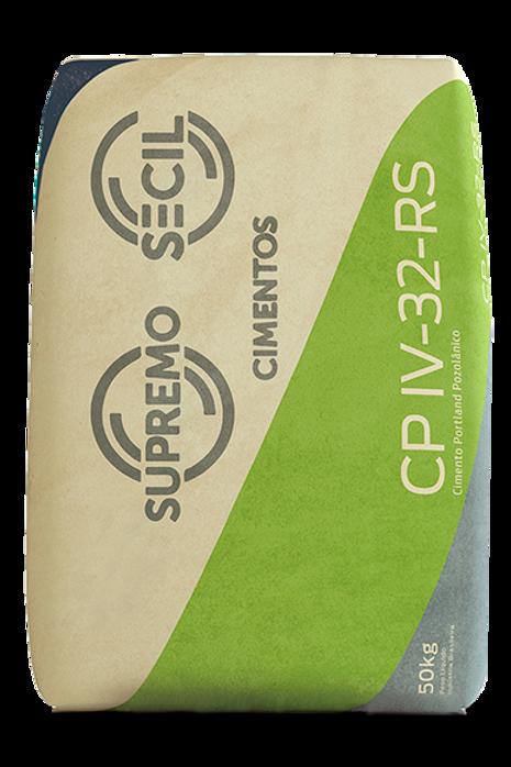 Cimento Ensacado CPIV 32 RS 50 KG Supremo