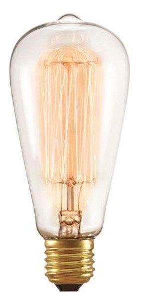 Lâmpada Filamento de Carbono 40W 220v ST64 Taschibra