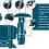 Thumbnail: Esmeril de bancada 220V WS7800