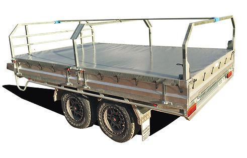 Premium X Flat Top Trailer Tonneau Cover